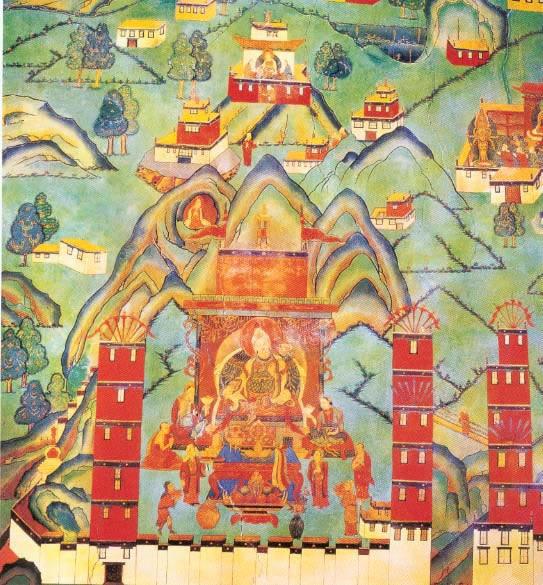 布达拉宫壁画 首页 > 佛教图片>布达拉宫壁画