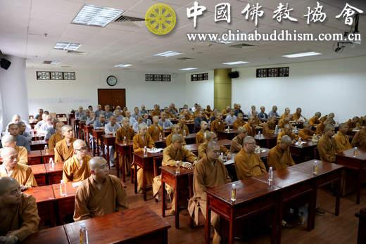 2、6月6日上午,在深圳弘法寺举行的大陆新戒组团会现场.JPG